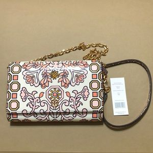 NWT Tory Burch Hicks Garden Crossbody